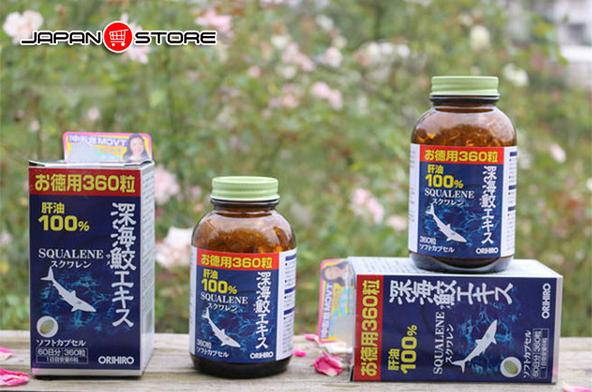 Sụn cá mập Squalene Orihiro Nhật Bản 1-01