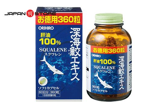 Sụn vi cá mập Squalene Orihiro Nhật Bản 01