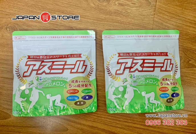 Sữa tăng chiều cao Nhật Bản - Sữa Asumiru cho trẻ từ 3 đến 16 tuổi-Japanstore_vn 02-1