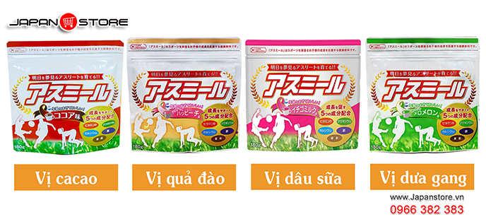 Sữa tăng chiều cao Nhật Bản - Sữa Asumiru cho trẻ từ 3 đến 16 tuổi-Japanstore_vn 13-1