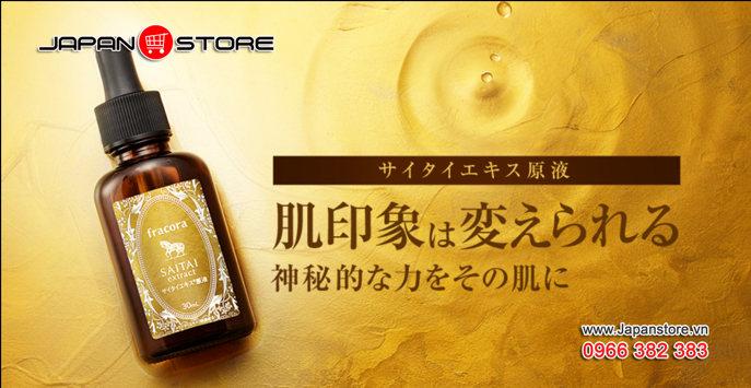 Serum Fracora Saitai Extract 30ml Nhật Bản 2
