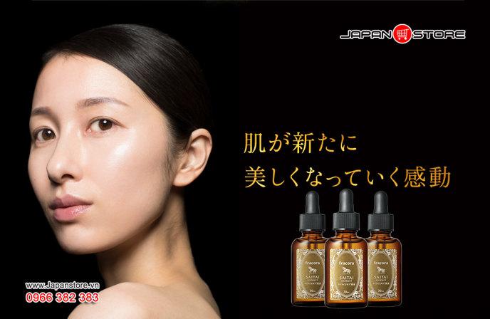 Serum Fracora Saitai Extract 30ml Nhật Bản 4