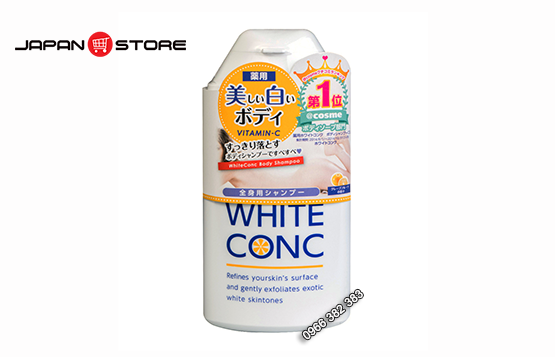 Sua tam trang White Conc Body Shampoo 360ml