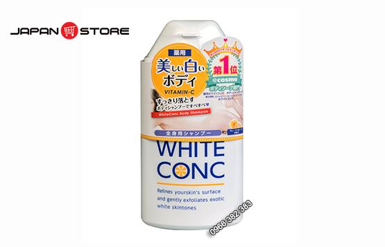 Sua tam trang White Conc Body Shampoo 360ml