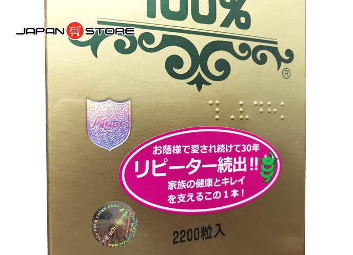 Tảo xoắn Spirulina Nhật Bản 2200 viên 6