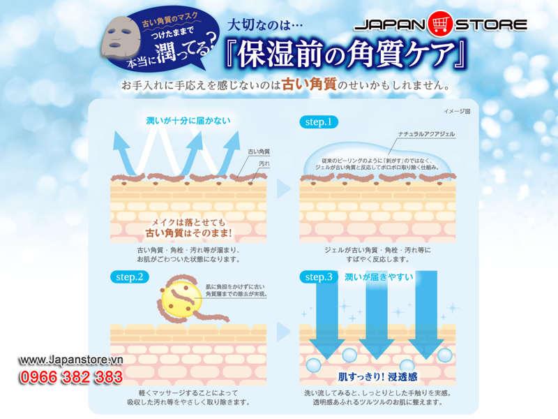 Tẩy tế bào chết Cure Natural Aqua Gel 250ml (250g)-16