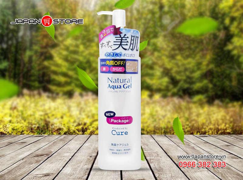 Tẩy tế bào chết Cure Natural Aqua Gel 250ml (250g)-3