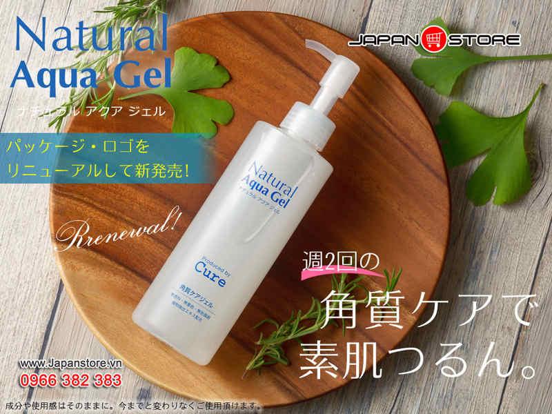 Tẩy tế bào chết Cure Natural Aqua Gel 250ml (250g)-7