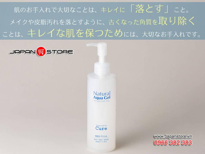 Tẩy tế bào chết Cure Natural Aqua Gel 250ml (250g)-9