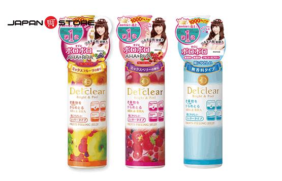 Tay te bao chet Meishoku Detclear Bright & Peel - Fruits Peeling Jelly