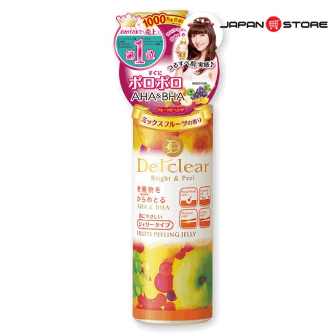 Tay te bao chet Meishoku Detclear Bright & Peel - Fruits Peeling Jelly-6
