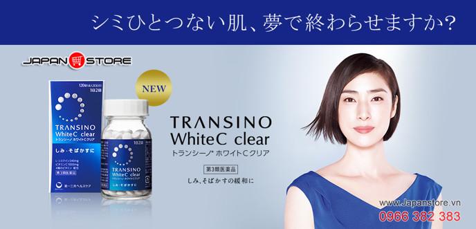 Transino White C Clear 120 viên trắng da 5