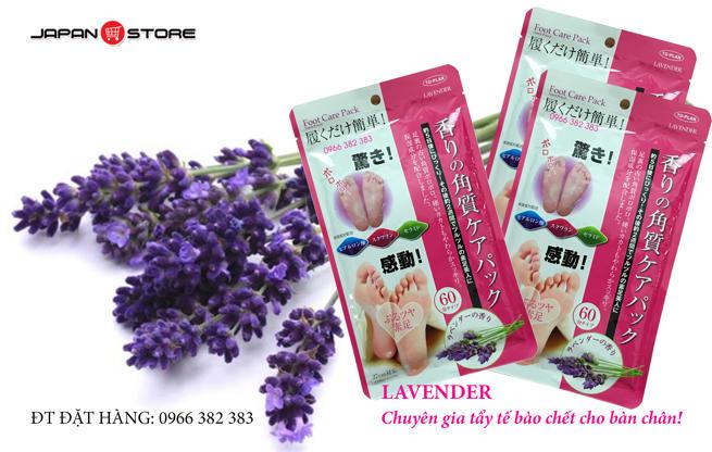 Tui u chan Lavender tay te bao da chet Food care pack - To Plan-4