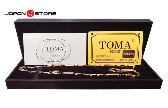 Vòng huyết áp Toma đeo cổ Nữ Nhật Bản chính hãng 001