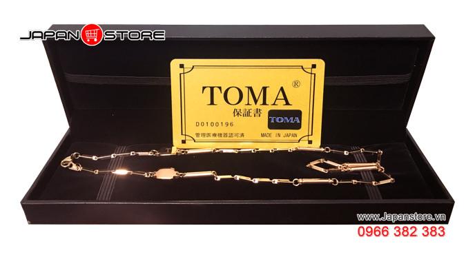 Vòng huyết áp Toma đeo cổ Nữ Nhật Bản chính hãng 01