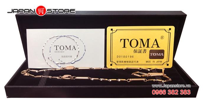 Vòng huyết áp Toma đeo cổ Nữ Nhật Bản chính hãng 02