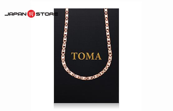 Vòng huyết áp Toma đeo cổ Nam (Toma 9MF- Chấm Vàng)