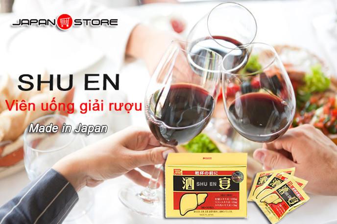 Viên giải rượu Shuen ( Shu en ) Nhật Bản 1