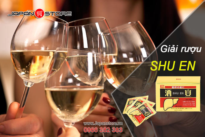 Viên giải rượu Shuen ( Shu en ) Nhật Bản 4