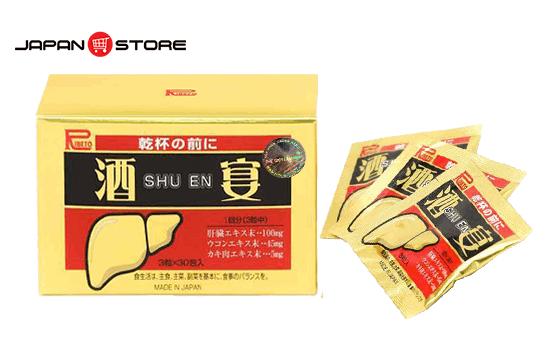 Viên giải rượu Shuen ( Shu en ) Nhật Bản
