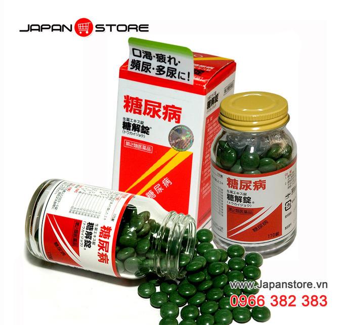 Viên hỗ trợ điều trị bệnh tiểu đường Tokaijyo Nhật Bản 170v-2