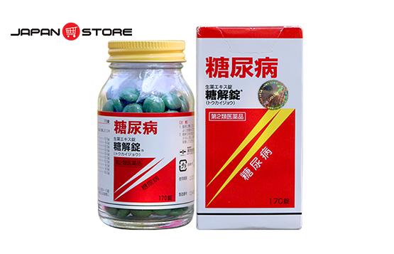 Viên hỗ trợ điều trị bệnh tiểu đường Tokaijyo Nhật Bản 170v