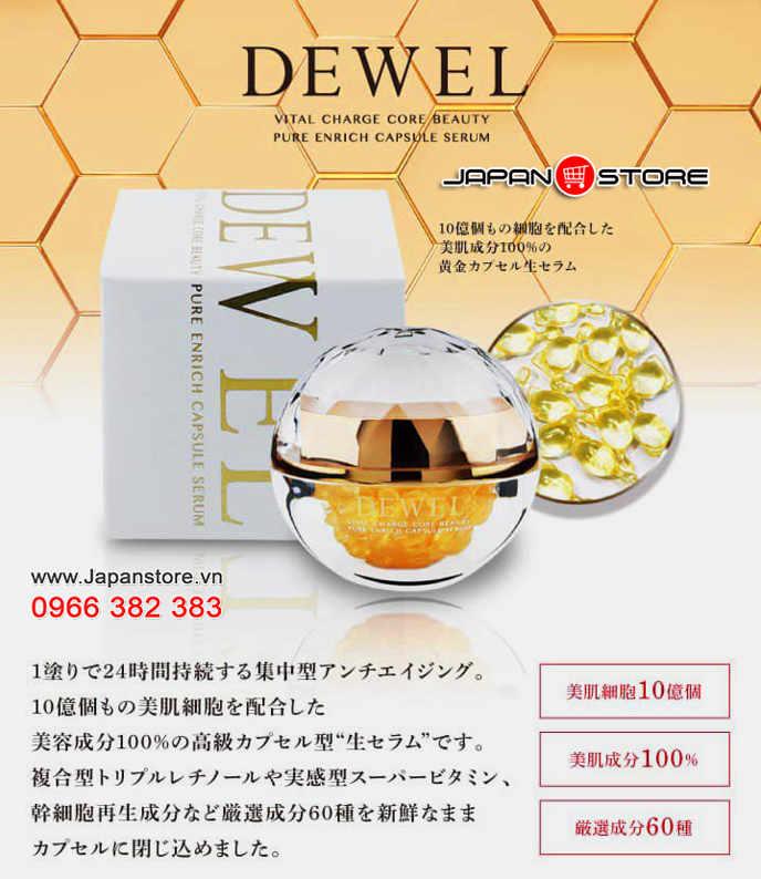 Viên nang tế bào gốc DEWELL Nhật Bản 5