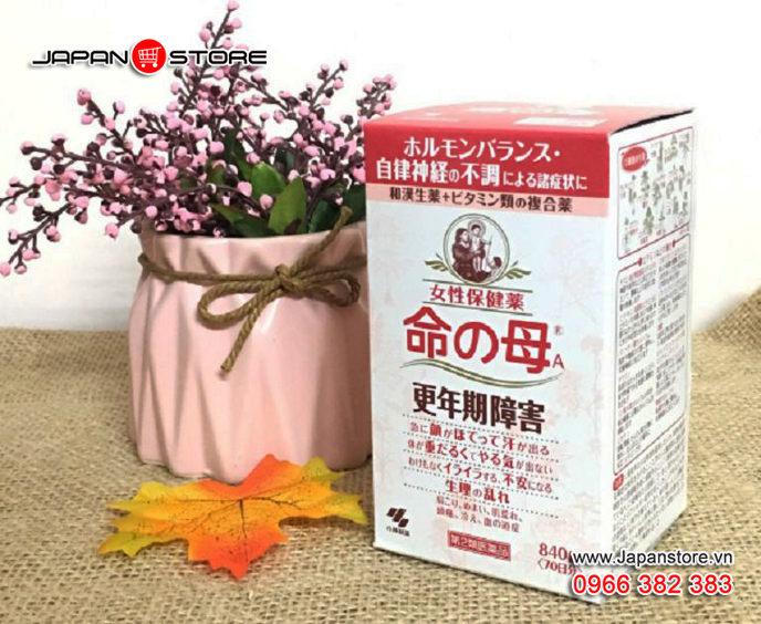 Viên uống Tiền Mãn Kinh Kobayashi Nhật Bản 840 viên 1