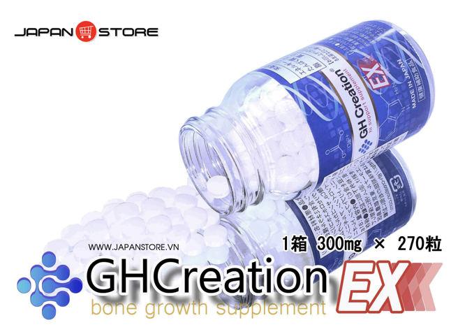 Viên uống tăng trưởng chiều cao GH Creation EX 270 viên Nhật Bản 5