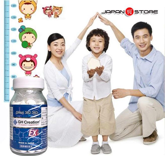 Viên uống tăng trưởng chiều cao GH Creation EX 270 viên Nhật Bản 7
