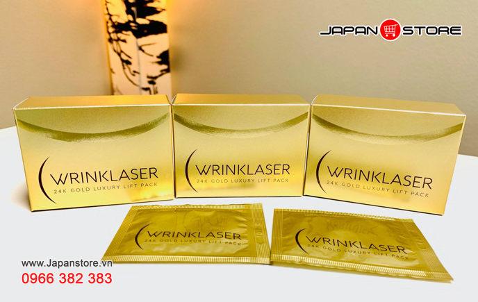 WRINKLASER 24K LUXURY LIFT PACK - Mặt nạ vàng WrinkLaser 24k _01