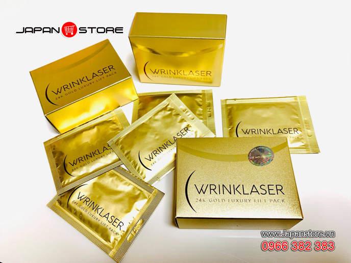 WRINKLASER 24K LUXURY LIFT PACK - Mặt nạ vàng WrinkLaser 24k _03