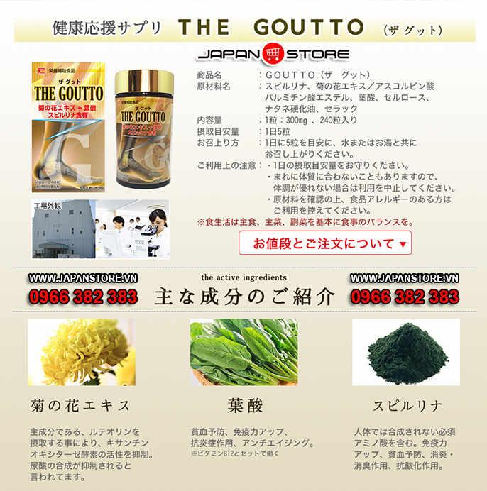 the goutto thuoc tri benh gut 5